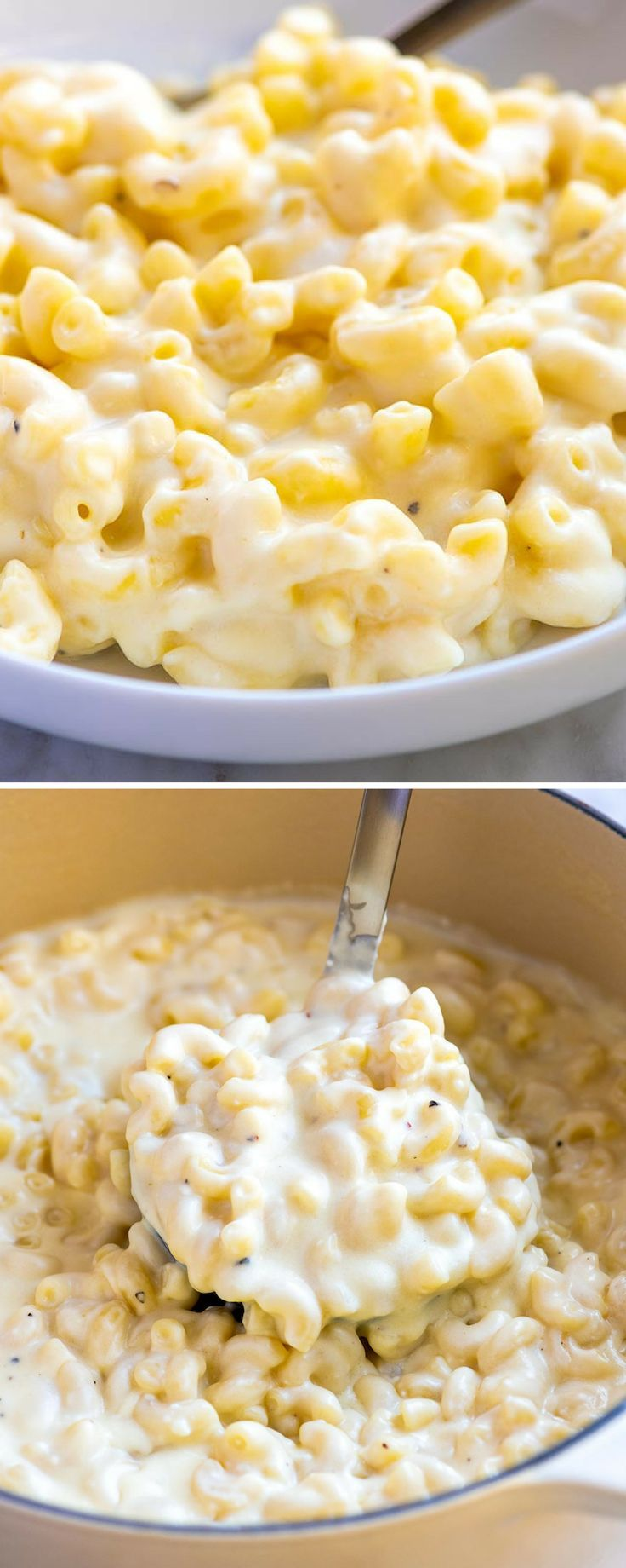 Easy Ultra Creamy Mac and Cheese #quickandeasydinnerrecipes