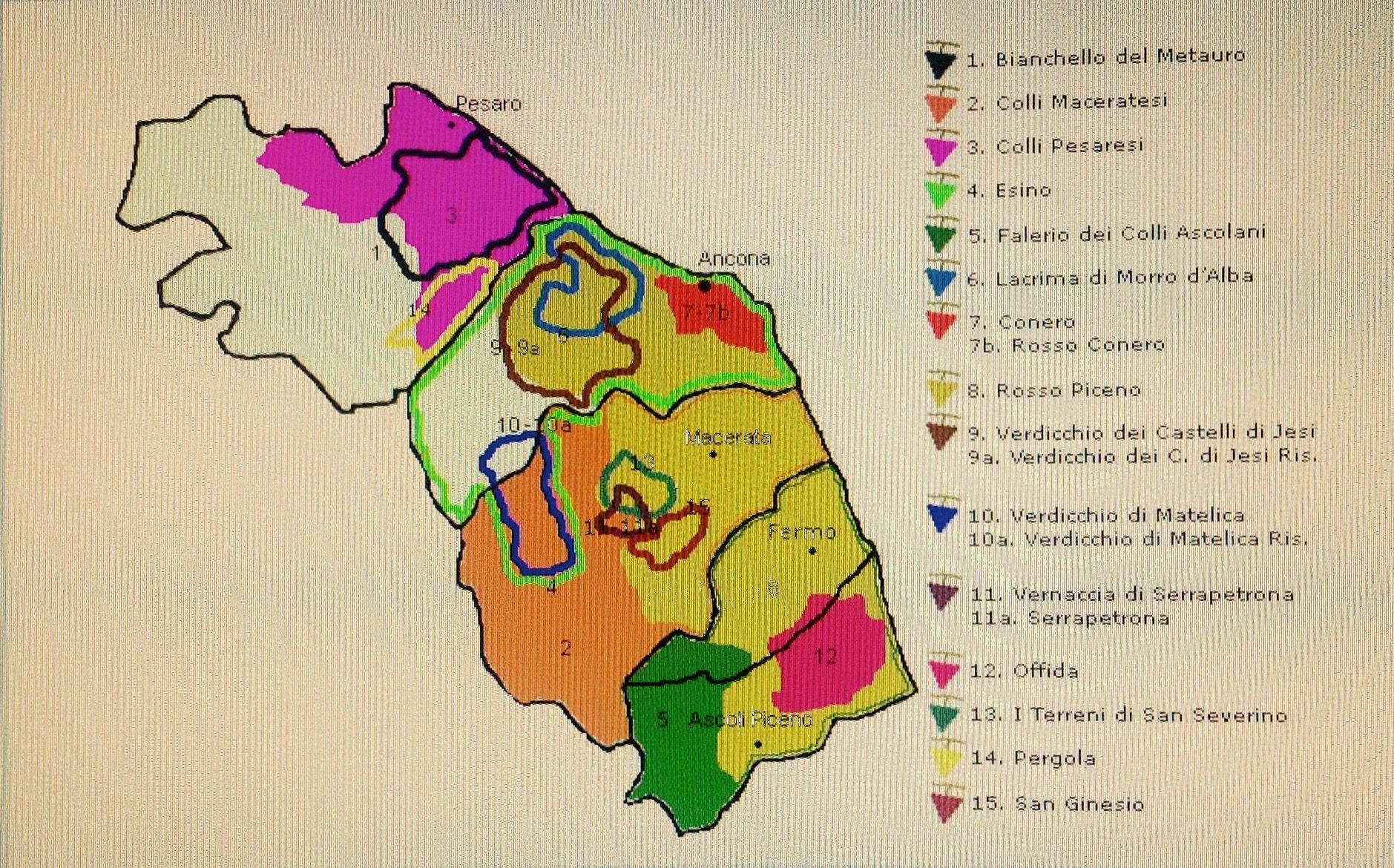 Cartina Italia ascoli Piceno
