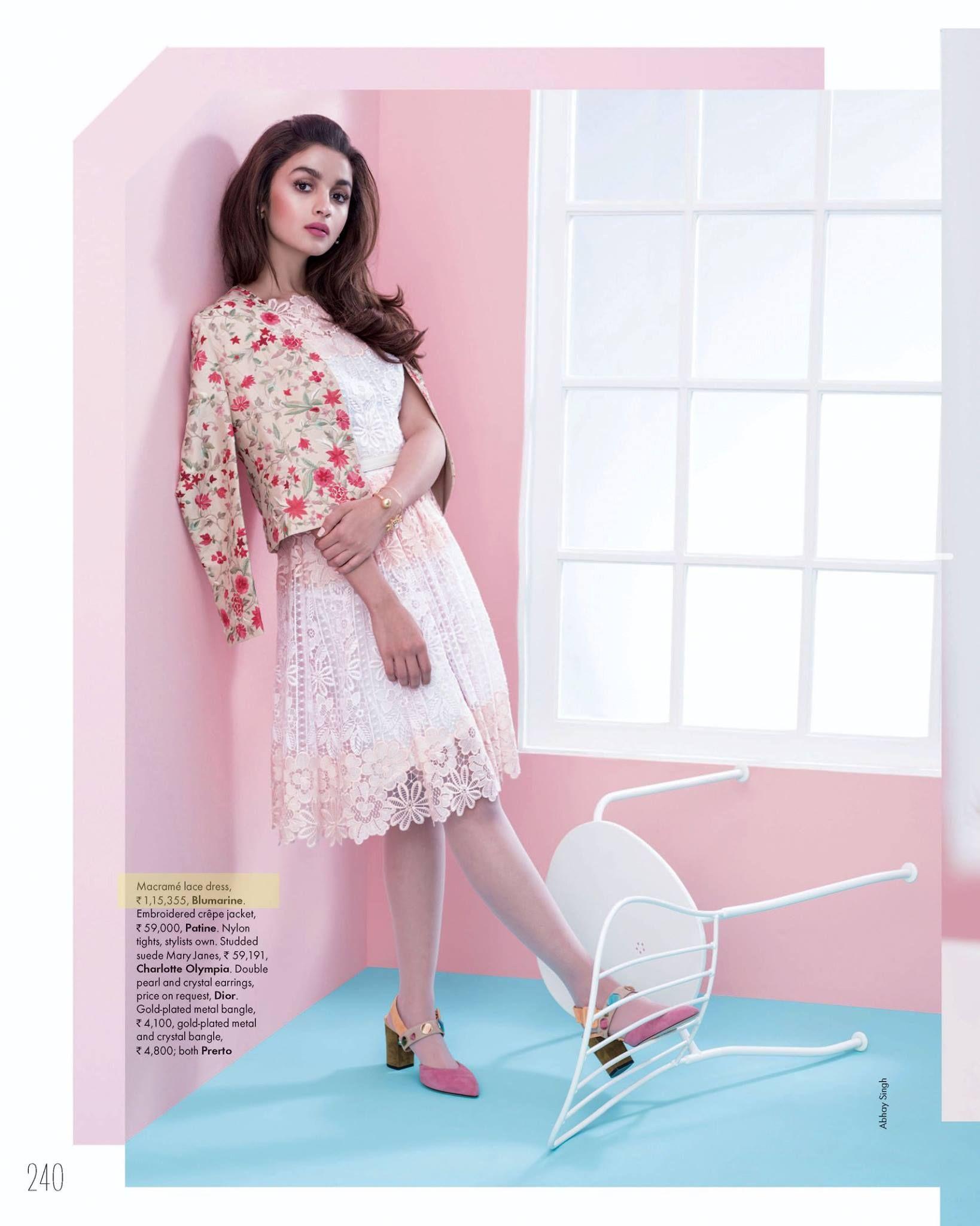 ELLE, India - December 2015 | label: blumarine + blugirl | Pinterest