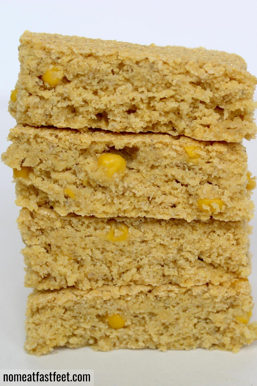 The Best Healthy Vegan Cornbread Recipe In 2020 Vegan Snacks Thanksgiving Dishes Snacks