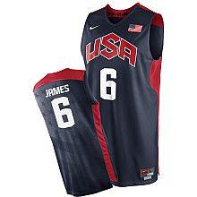 Nike LeBron James 2012 USA Basketball Replica Jersey - NBAStore.com