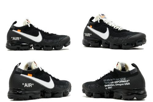 the best attitude 8dec6 1c0ce Most Popular THE 10 NIKE AIR VAPORMAX FK OFF WHITE black white clear aa3831  001