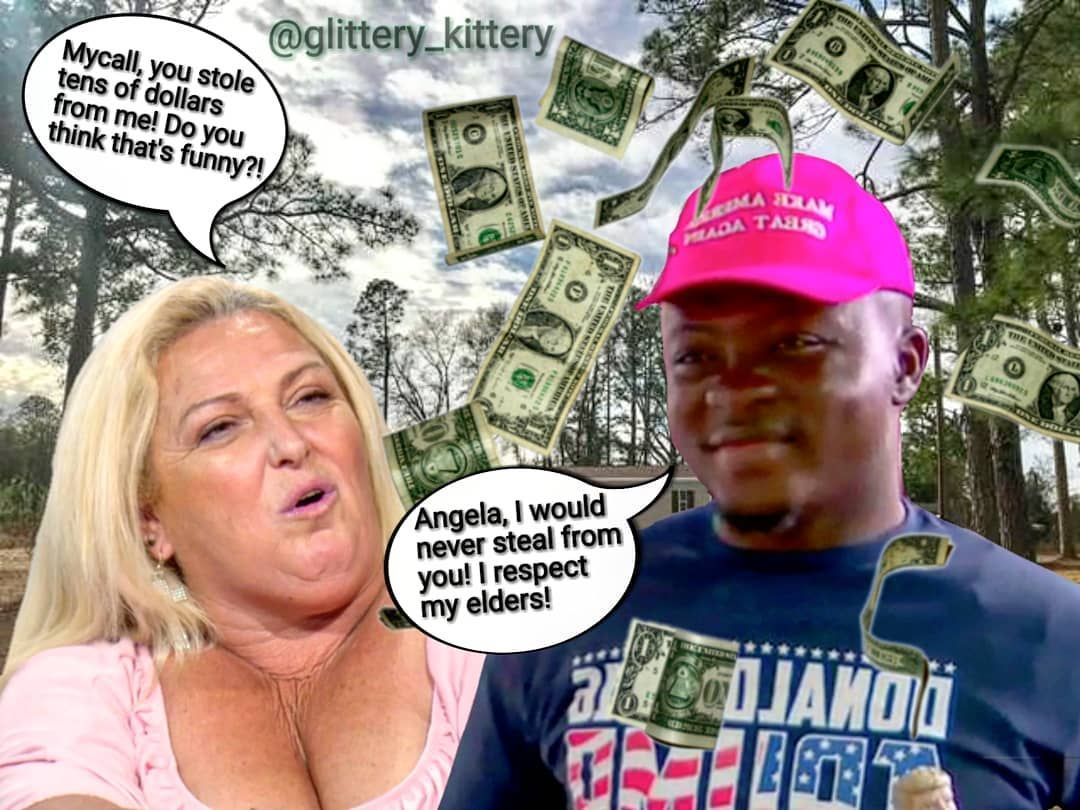 Michael S In The Money Digitalart 90dayfiance Beforethe90days 90days Realitytv Angela Michael Angelaandmichael Fiance Humor 90 Day Fiance Funny
