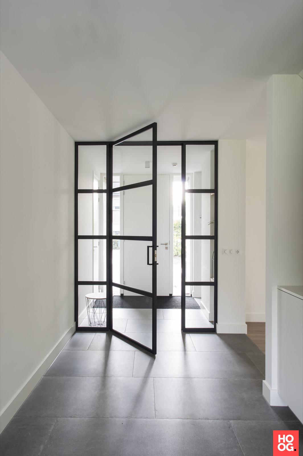 Stalen Binnendeur Met Glas Binnendeuren Glazen Schuifdeur Deuren Interieur