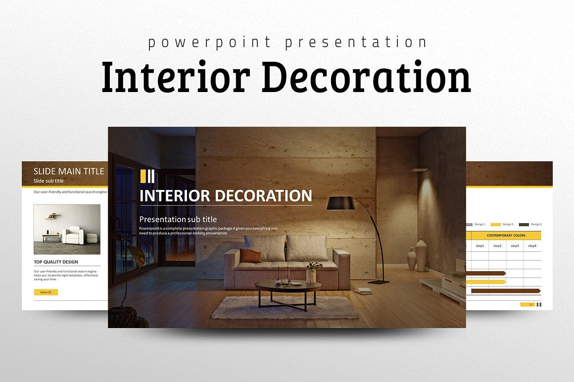 Interior Decoration Ppt With Images Interior Presentation