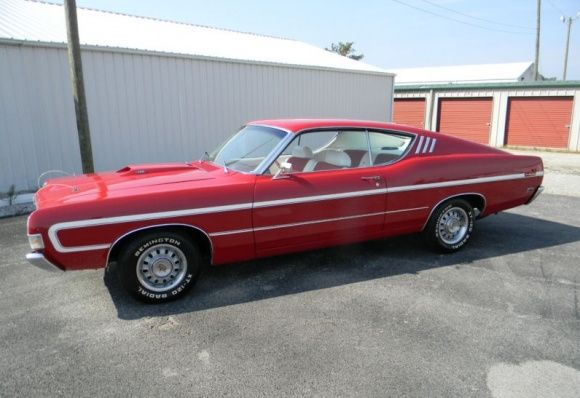 Ford Torino Gt Fastback For Sale On Ebay As Of  Via Bring A Trailer