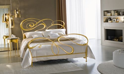10 Whimsical Wrought Iron Beds Wrought Iron Beds Iron Bed Iron Bed Frame