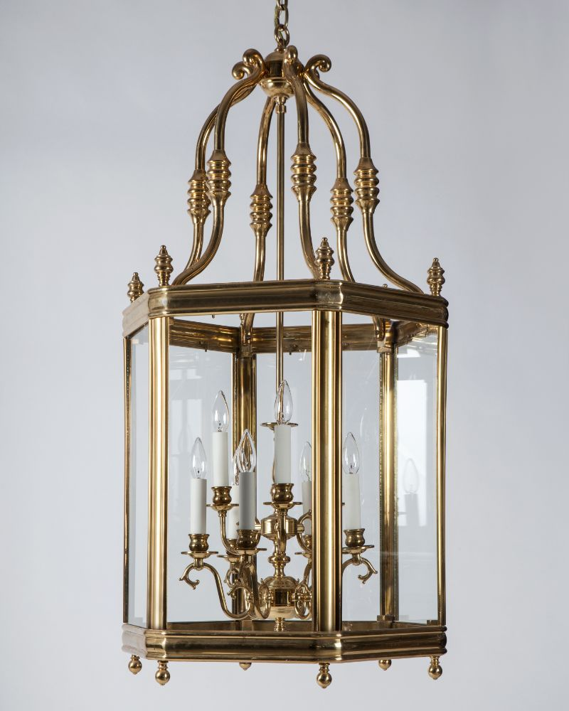 Large Brass Lantern Ahl4109 Remains Com Brass Lantern