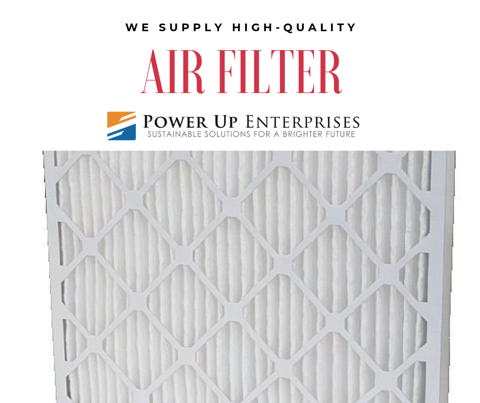 Contact us today for Air Filter supply and installation in
