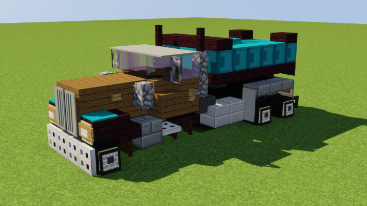Custom Pete Dump Truck Minecraft Project | Minecraft