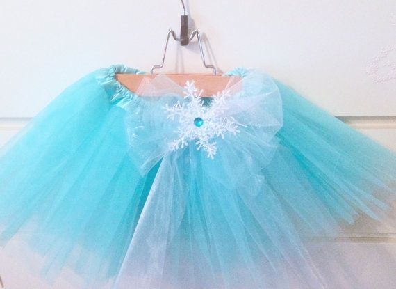 Disney's Frozen Inspired Elsa Tutu with Snowflake by PoshPixieTutu, $19.99