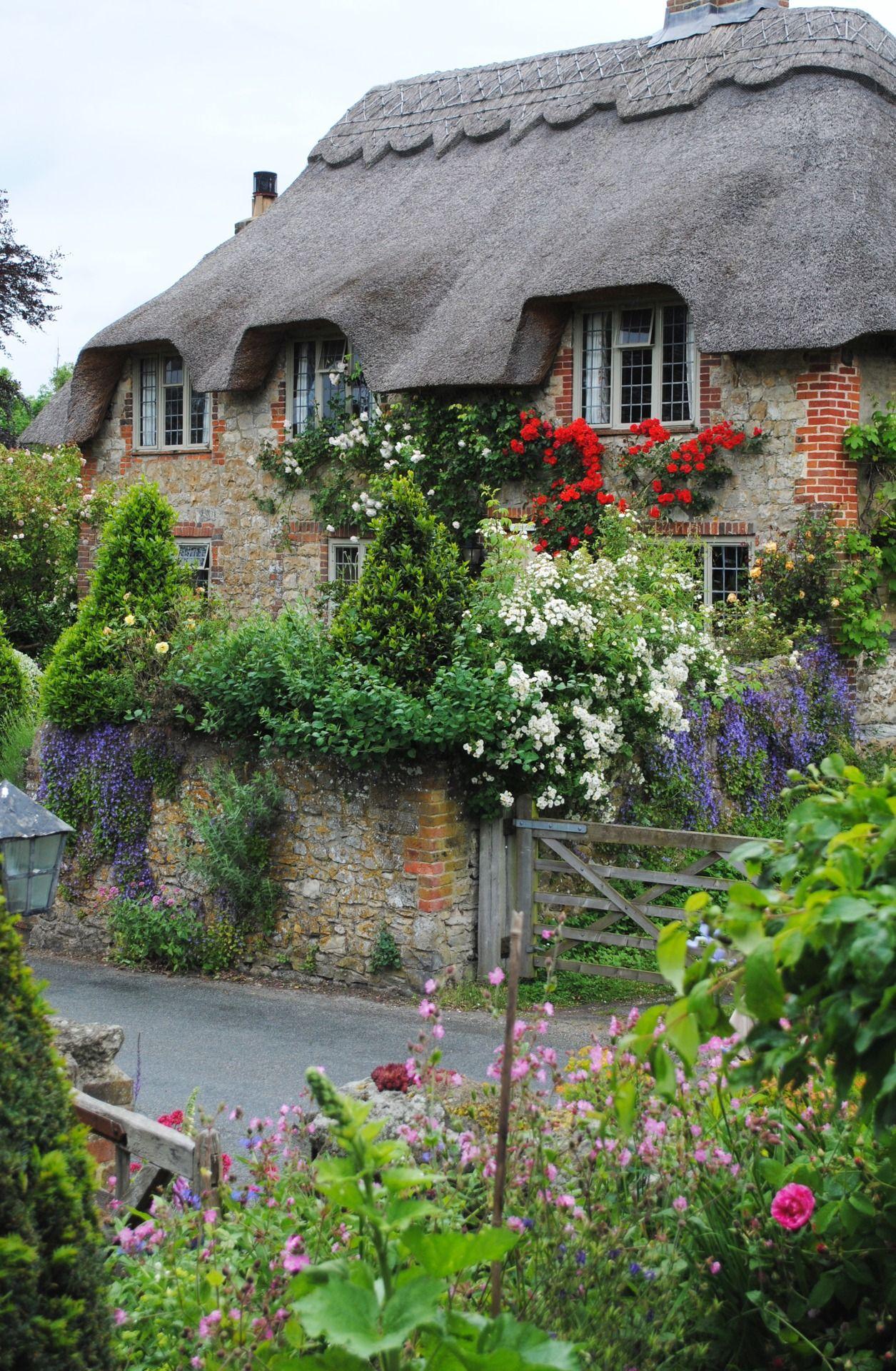 Amberley, West Sussex, England | English cottage garden ...