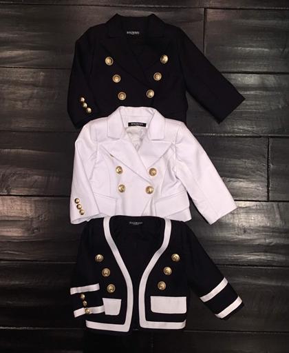 Kim Kardashian shares custom jacket her daughter N...