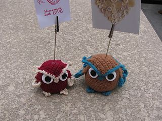 Owl Memo Holder pattern by Atelier Myne