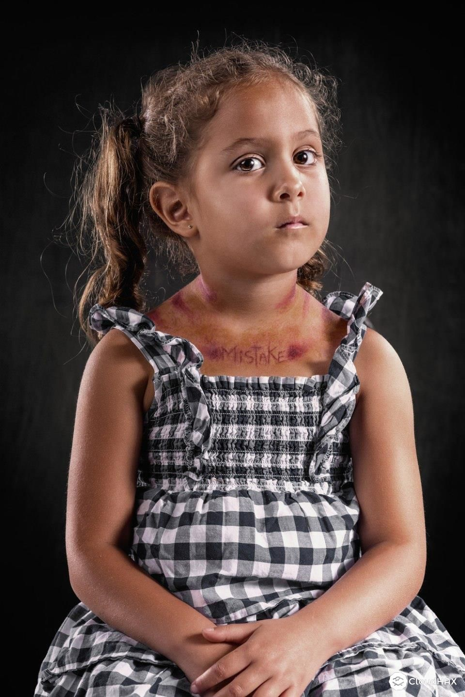 Extremely Powerful Photo Project Shows The Effects Of Verbal Abuse - Extremely powerful photo project shows effects verbal abuse