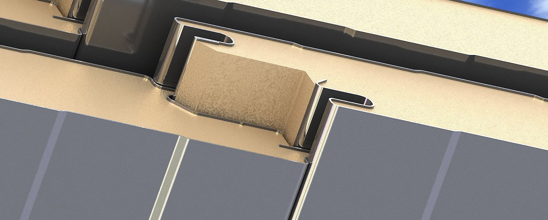 Tongue And Groove Joint Of Awip Panels Ensure Integrity Of A Building S Thermal Envelope Insulated Panels Paneling Roof Panels