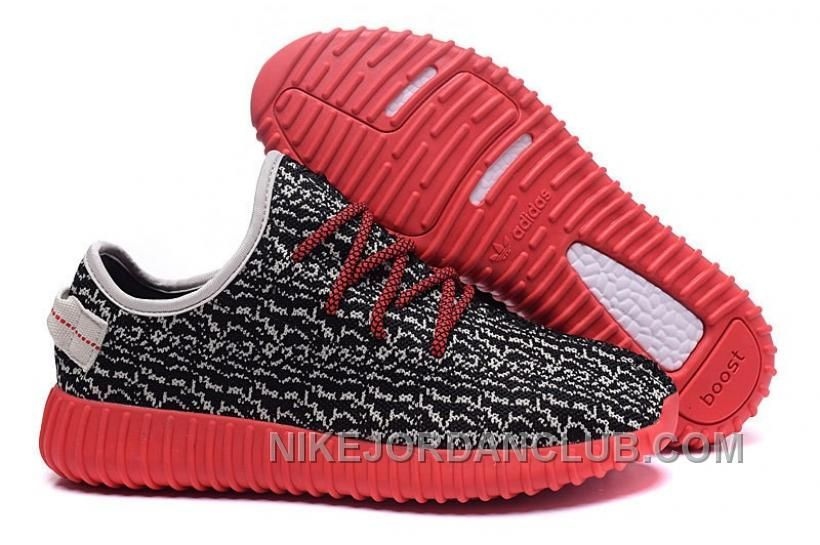 ADIDAS YEEZY BOOST 350 BLACK LIGHT APRICOT RED MENS SHOES WZEAE Only  67.00   aa7580216