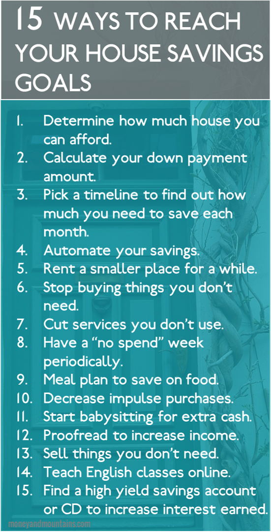 How to Quickly Save Money for a House Down Payment #housegoals