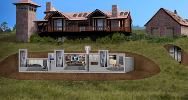 The Magic Of The Internet Underground Homes Bunker Home Safe Room