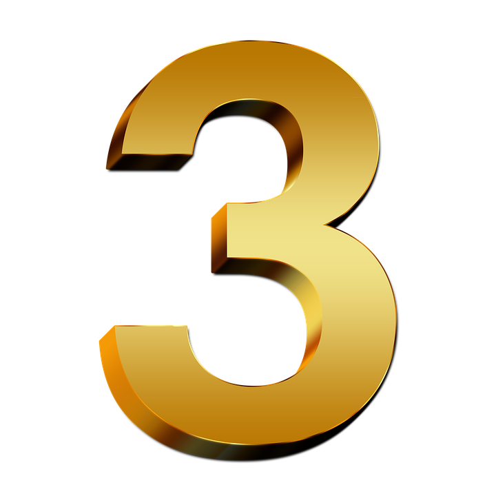 Free Image On Pixabay Pay Gold Three Number Digit 3d Banner Background Hd Numbers Birthday Banner Background Hd