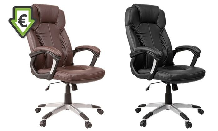 Groupon Goods Global GmbH: Fauteuil de bureau Prestige, coloris au choix, à 79,90€ (58% de réduction)