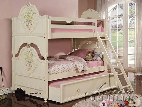 Bedroom Kids Furniture Houston | House bunk bed, Girls ...
