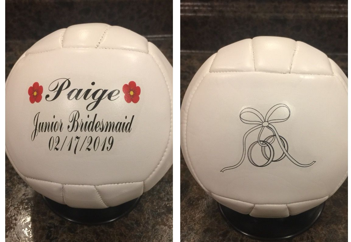 Personalized Mini Volleyballs Volleyball Gifts Volleyballs Sports Gifts