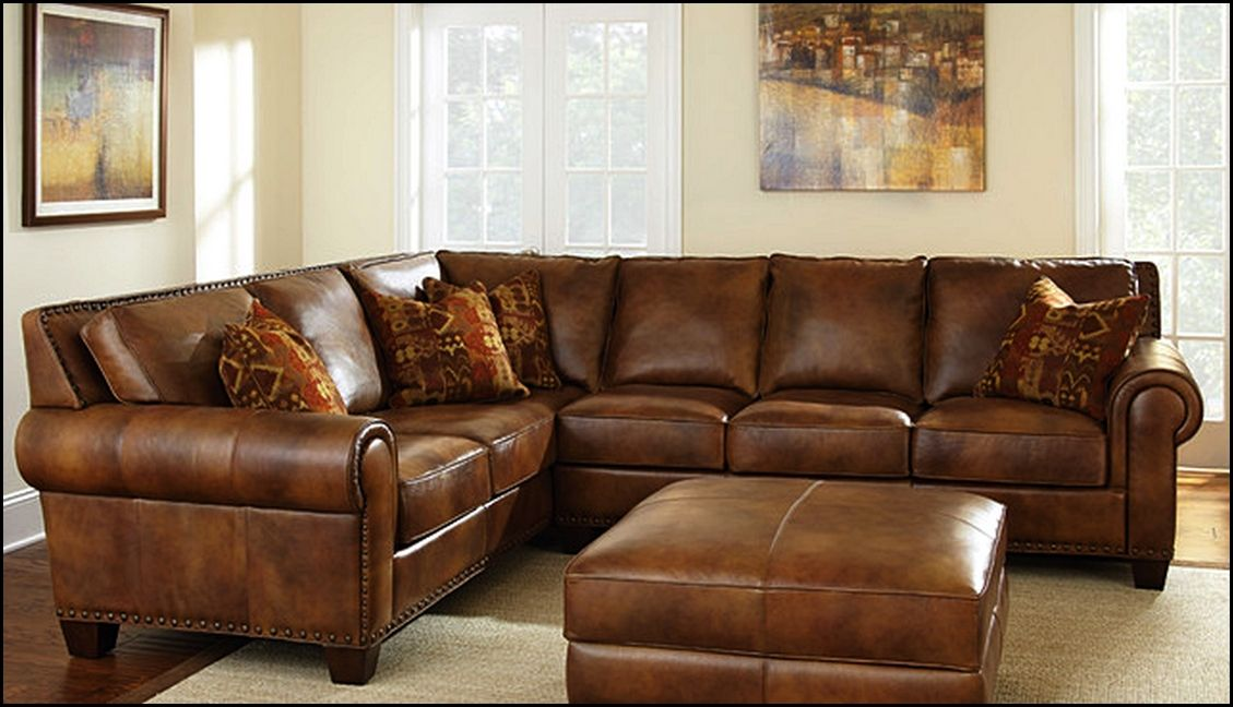 Charmant Thomasville Sectional Sofa Leather   Best Home Design Ideas .