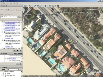 Google Earth Live See Satellite View Of Your House Fly Directly - Google earth live