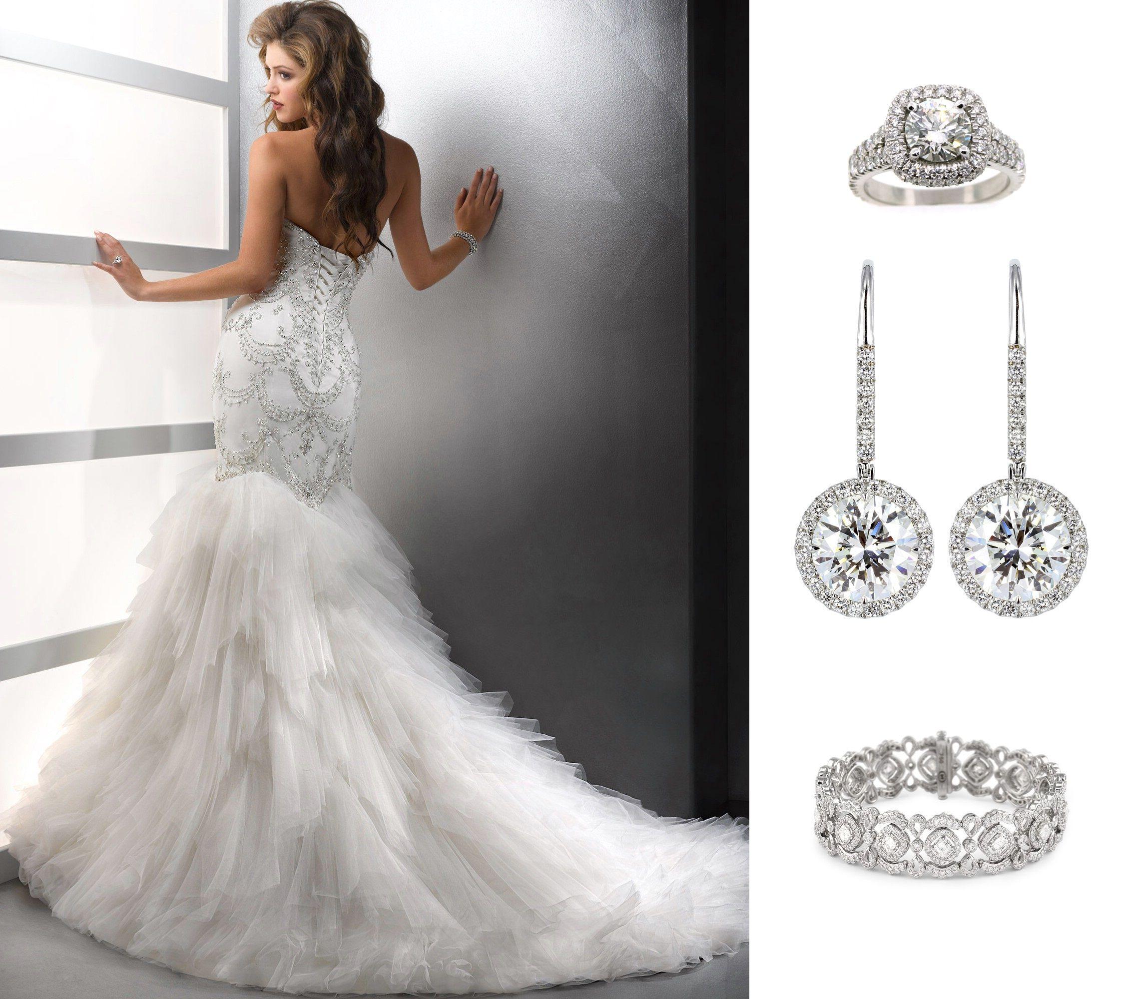 Shine brighter than a diamond! Mermaid wedding dress