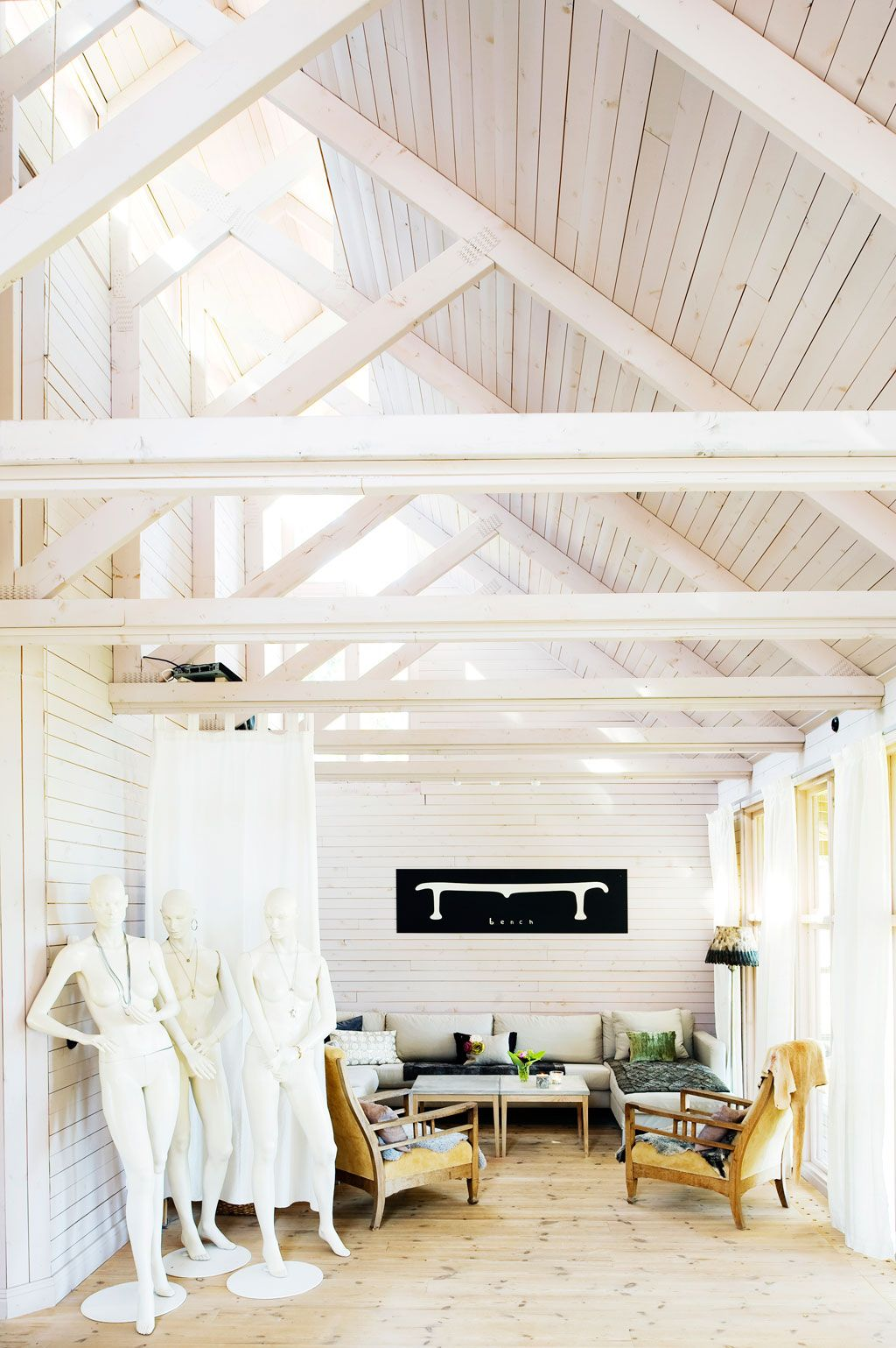 Hans & Cathrine Edblad\'s home | Living | Pinterest | Country style ...
