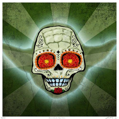 sugar skull - Star Wars - Yoda