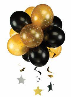 topiarios hechos con globos para decorar fiestas