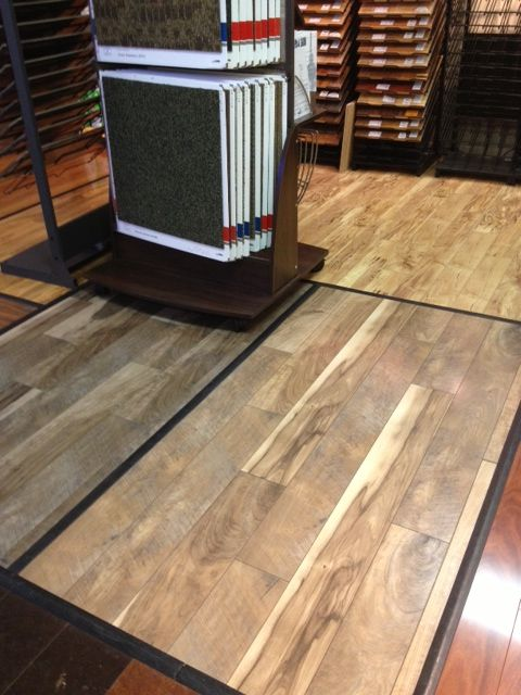 And Yet Another Dealer Realizing That By Putting Mannington S Restorations Collection In Color Cau Their Showroom It Automatically Screams You Want