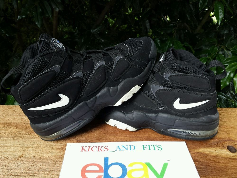 designer fashion 995e5 acea3 NIKE Air Max Uptempo 2 Retro Basketball Shoes Mens Size 8.5 – 472490-010  Nike BasketballShoes