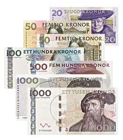 Every Country Has Some Form Of Money In America There Is Dollars But In Sweden They Have Something Called A Krona About 8 Kron Sweden Learn Swedish Swedish