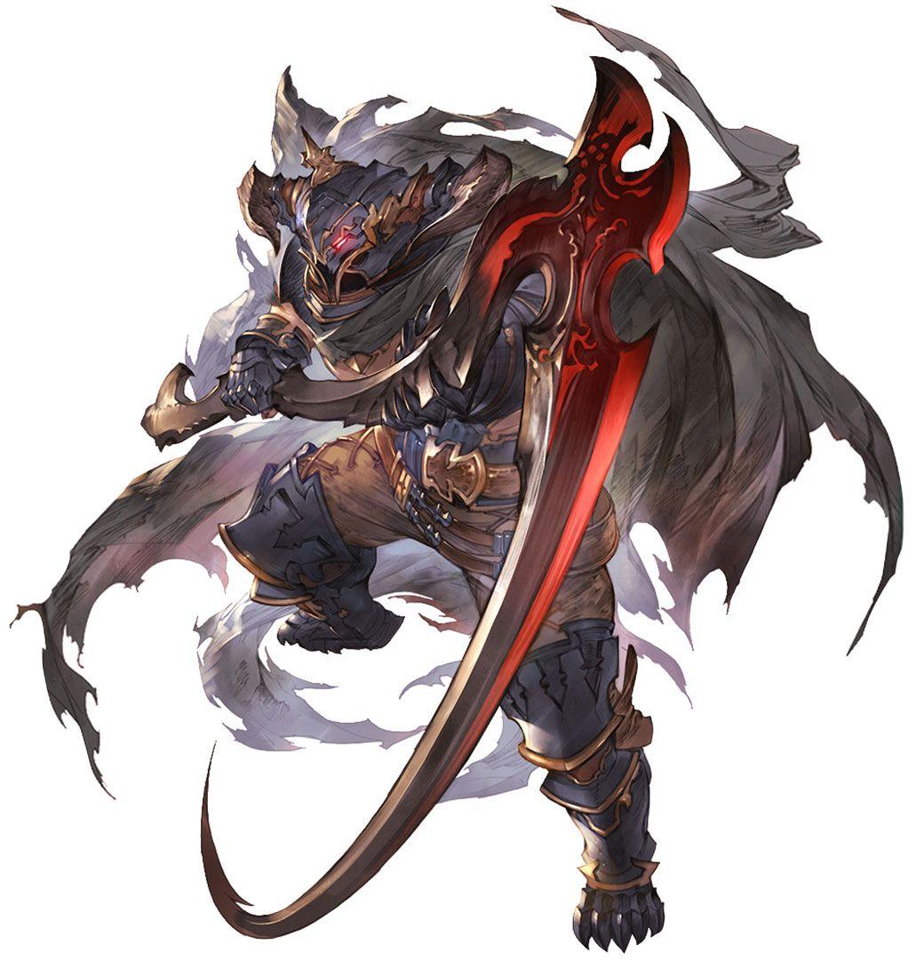 Vaseraga Character Art from Granblue Fantasy Versus art