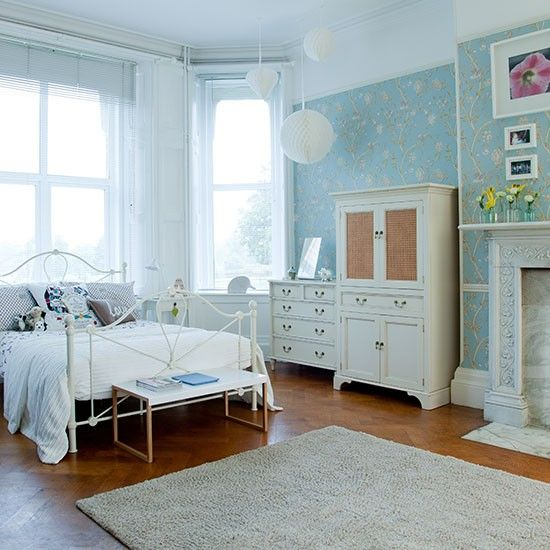 Interior Of Bedroom Wall Duck Egg Blue Bedroom Pictures Bedroom With Single Bed Bedroom Curtains Uk: Morris Rugs Chrysanthemum China Blue