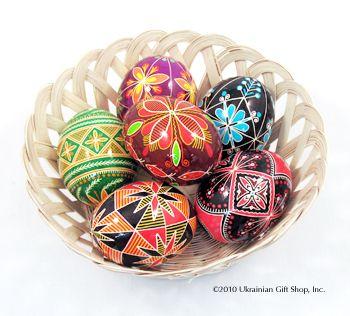 Egg Decorating Supplies - Ukrainian Gift Shop | Czech Ideas ...