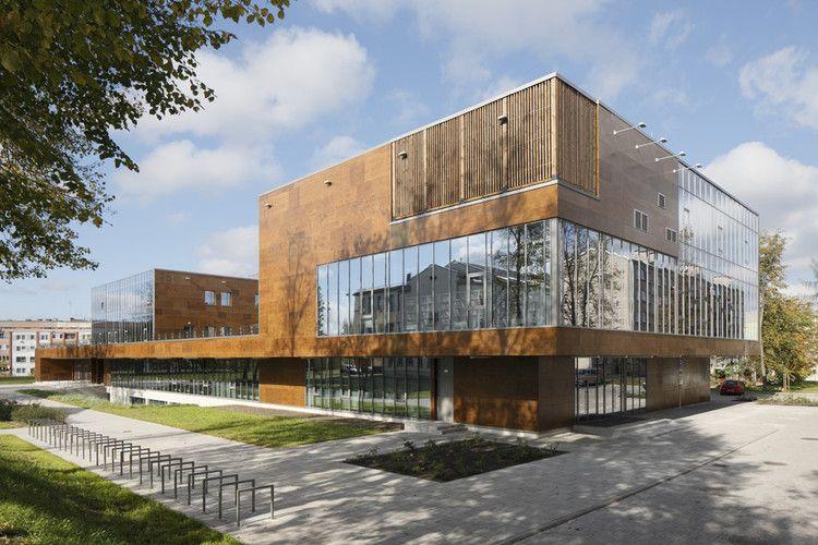 Rezekne University Department Of Engineering Ab3d Architecture Facade Architecture Architecture Details
