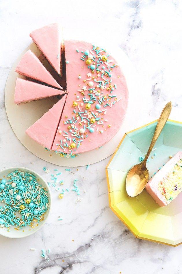 Mini Sprinkles Cake.