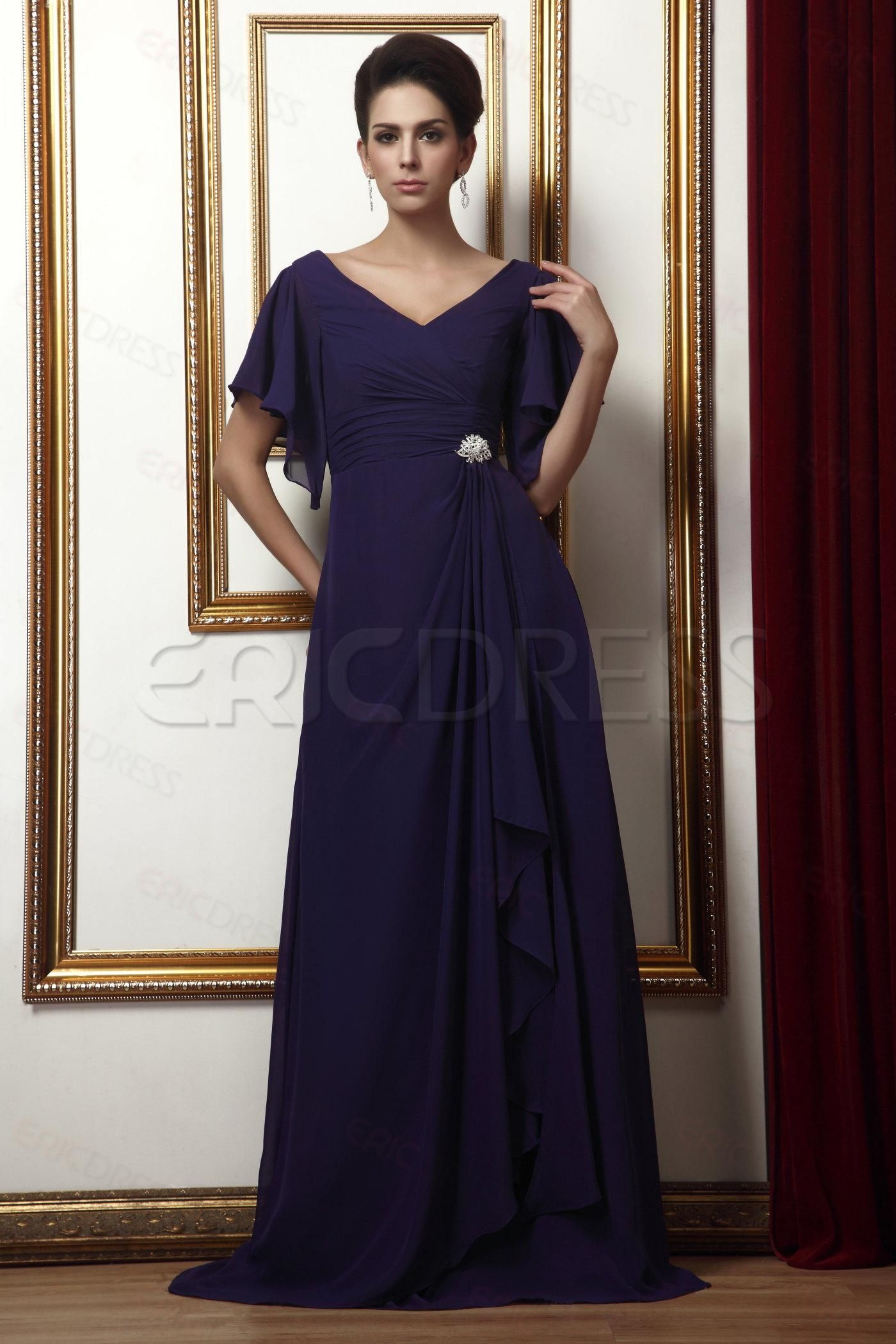a8233768658 Fabulous Draped Floral Mother of the Bride Dresses   Plus Size Mother  Dresses at 10191002 - ericdress.com