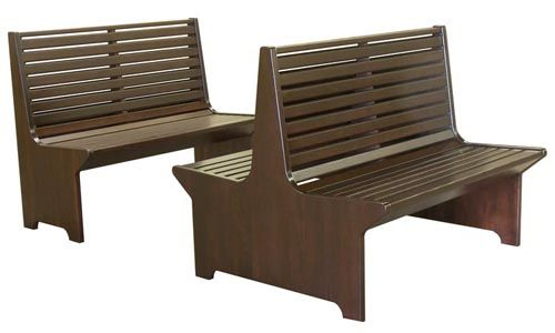 Wood Bench Seats For Restaurant Booths Or Waiting Area Wood Bench Seat Booth Seating Restaurant Booth