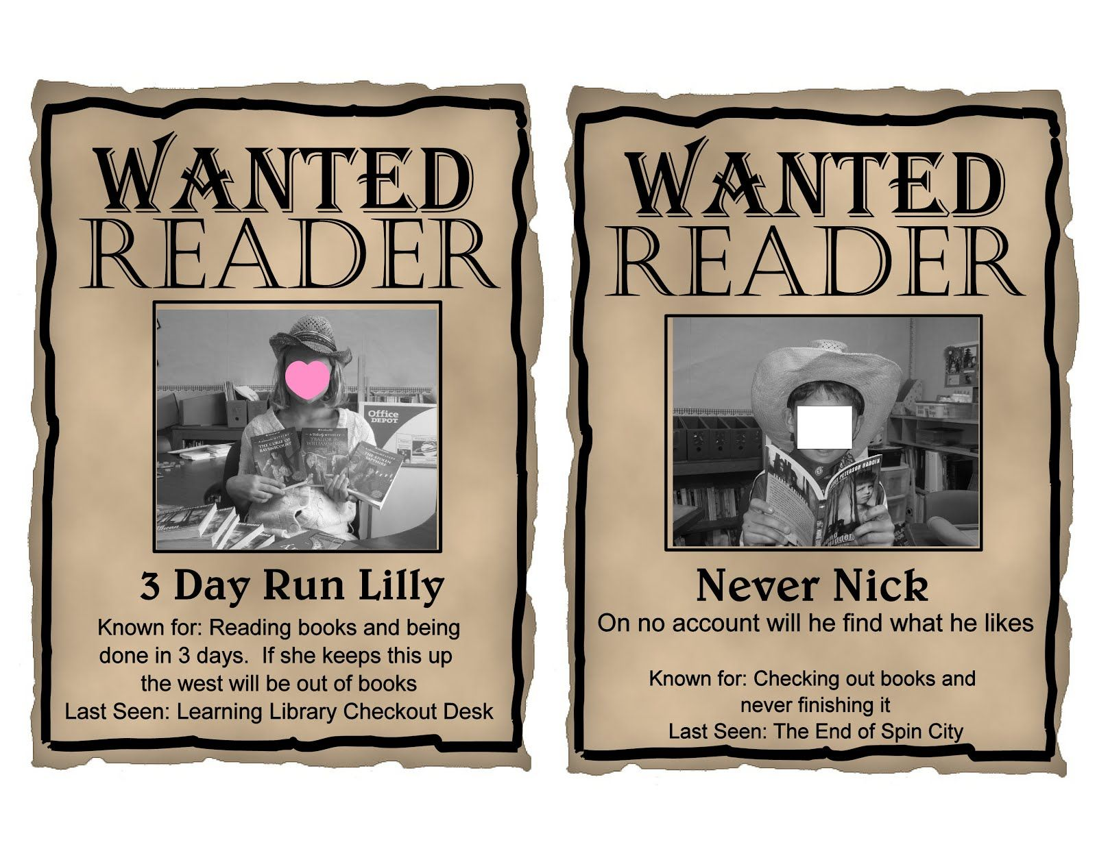 Free Printables Editable Western Wanted Theme Posters In Powerpoint So You Can Upload Your