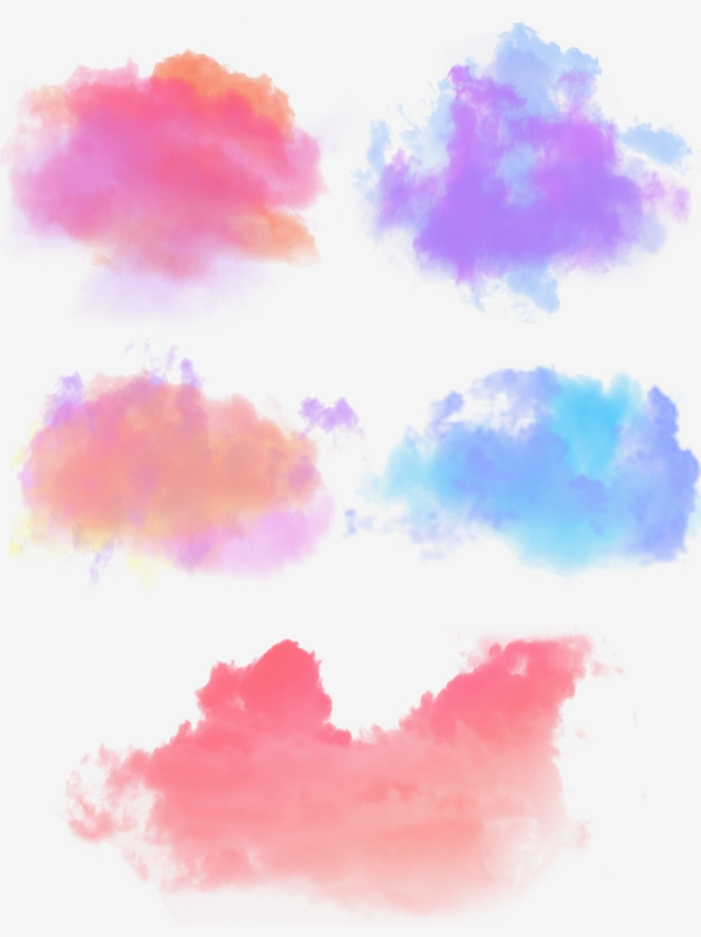 Color Colorful Ink Cloud Gradient Mixed Layered Transparent Material Png And Ps Paint Splash Background Graphic Design Background Templates Background Patterns