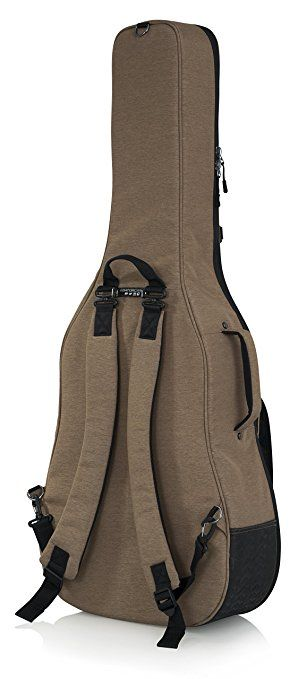 Amazon Com Gator Cases Gt Acoustic Tan Transit Series Acoustic Guitar Gig Bag With Exterior Tan Musical Instruments Guitar Bag Acoustic Guitar Guitar