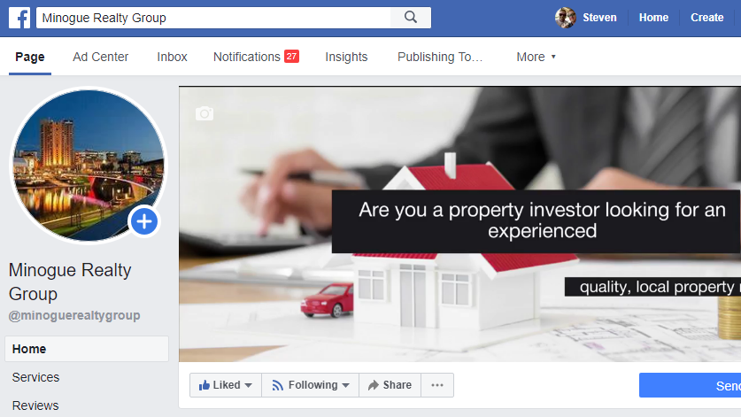 Checkout the new Minogue Realty Group Facebook page