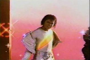 <3 Michael Jackson <3 - rare photo from inside the ride Captain EO at Disney.