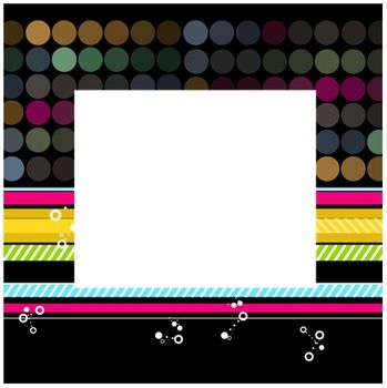 Funky Frames: Totally Mod Dots & Stripes Clip Art Accents | Clip art ...