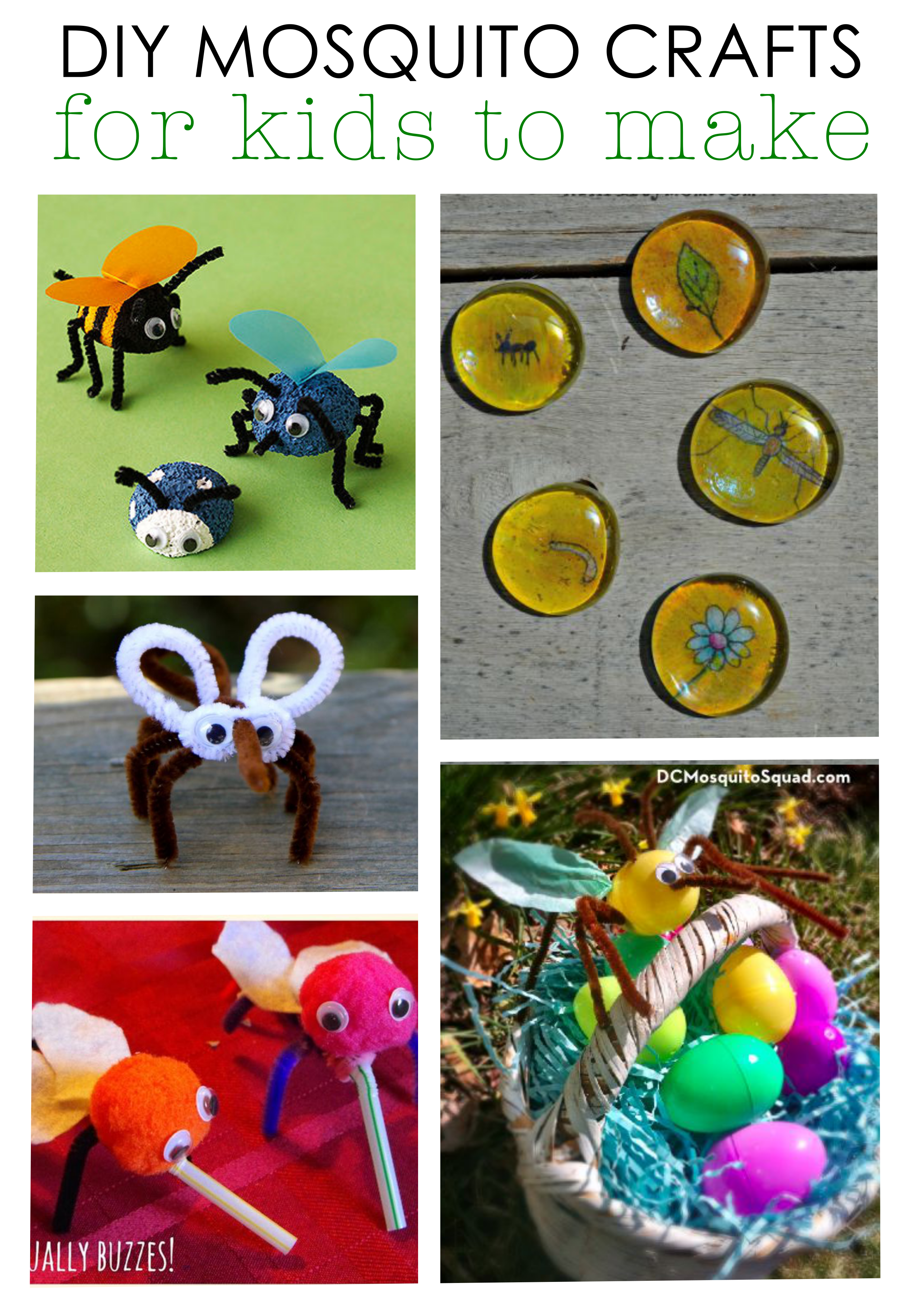 the best diy mosquito crafts for kids if you have egg cartons